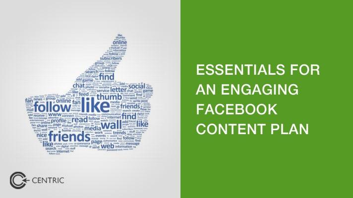Facebook content plan
